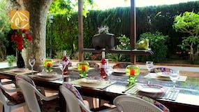 Holiday villa Spain - Villa Mas Calsa - Terrace