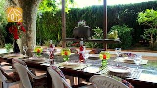 Vakantiehuizen Costa Brava Spanje - Villa Mas Calsa - Terras