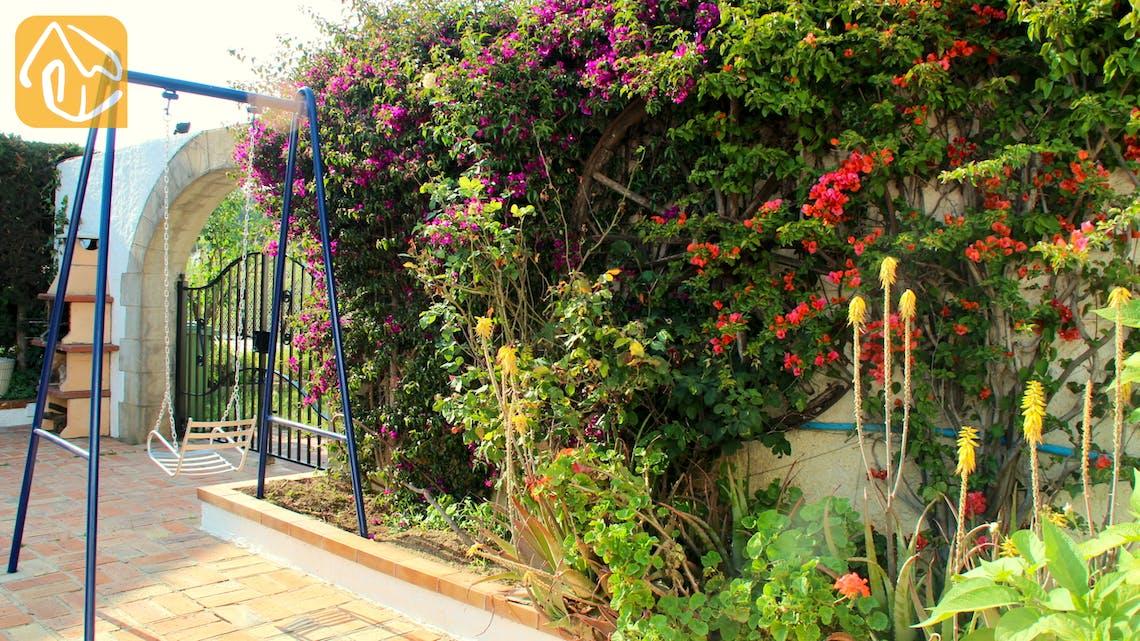 Holiday villas Costa Brava Spain - Villa Mas Calsa - Terrace