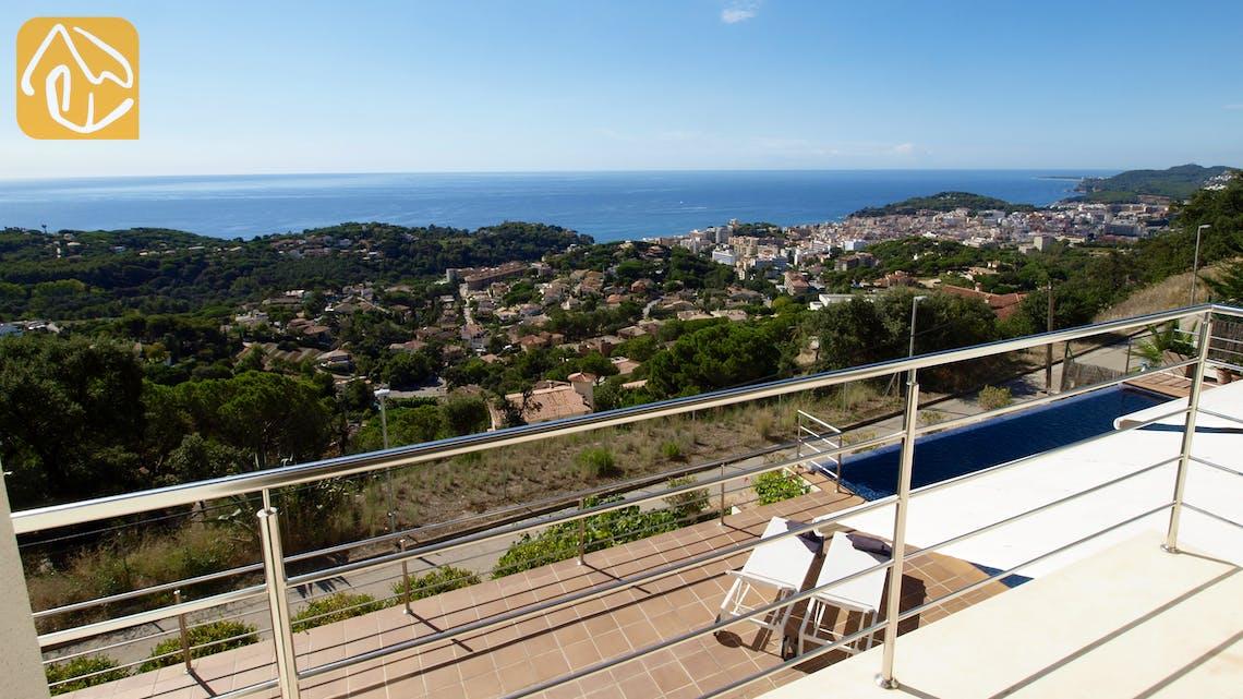 Ferienhäuser Costa Brava Spanien - Villa Bella Vista - Schwimmbad