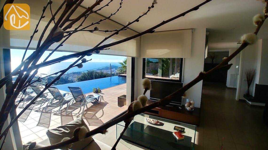 Holiday villas Costa Brava Spain - Villa Bella Vista - Swimming pool