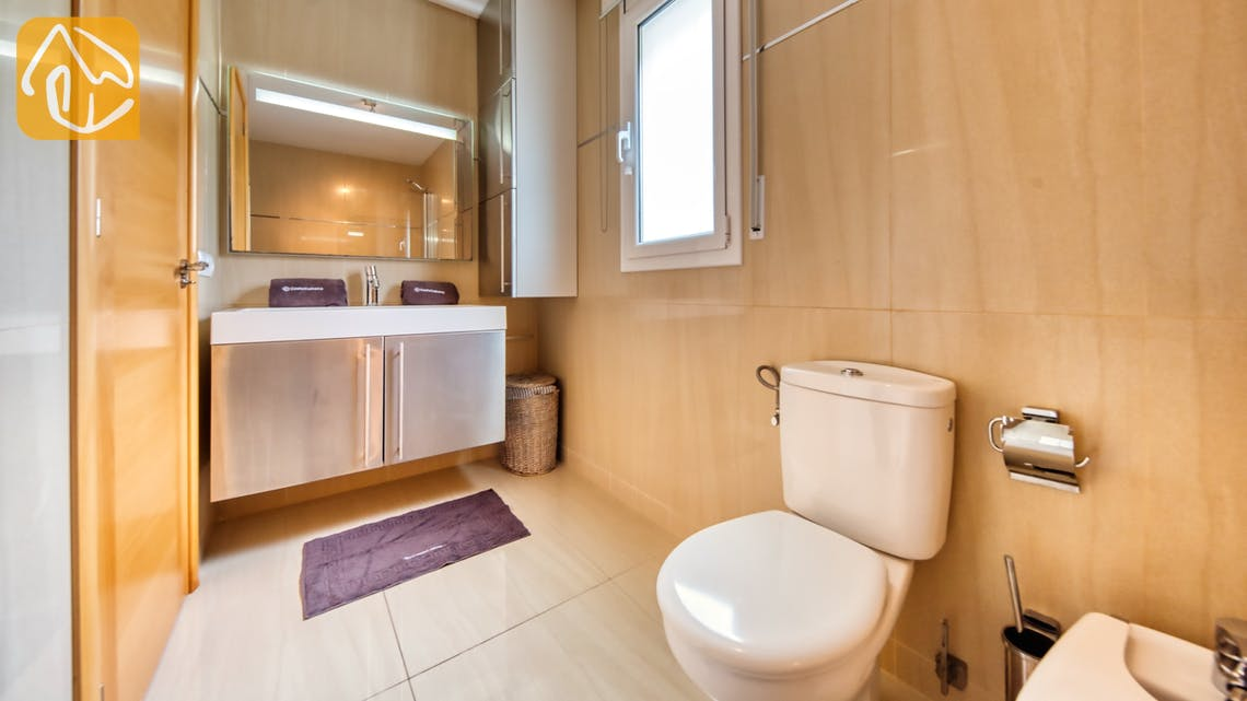 Holiday villas Costa Brava Spain - Villa Sophia Lois - Bathroom