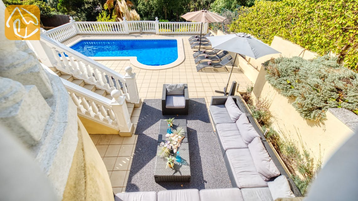 Holiday villas Costa Brava Spain - Villa Sophia Lois - Lounge area