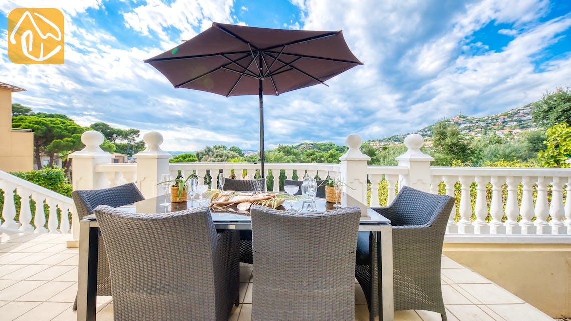 Villas de vacances Costa Brava Espagne - Villa Sophia Lois - Dining area