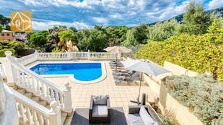 Holiday villas Costa Brava Spain - Villa Sophia Lois - Villa outside
