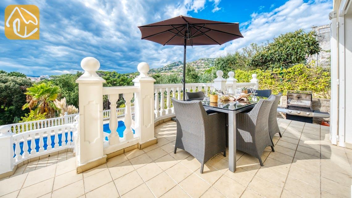 Villas de vacances Costa Brava Espagne - Villa Sophia Lois - BBQ Area