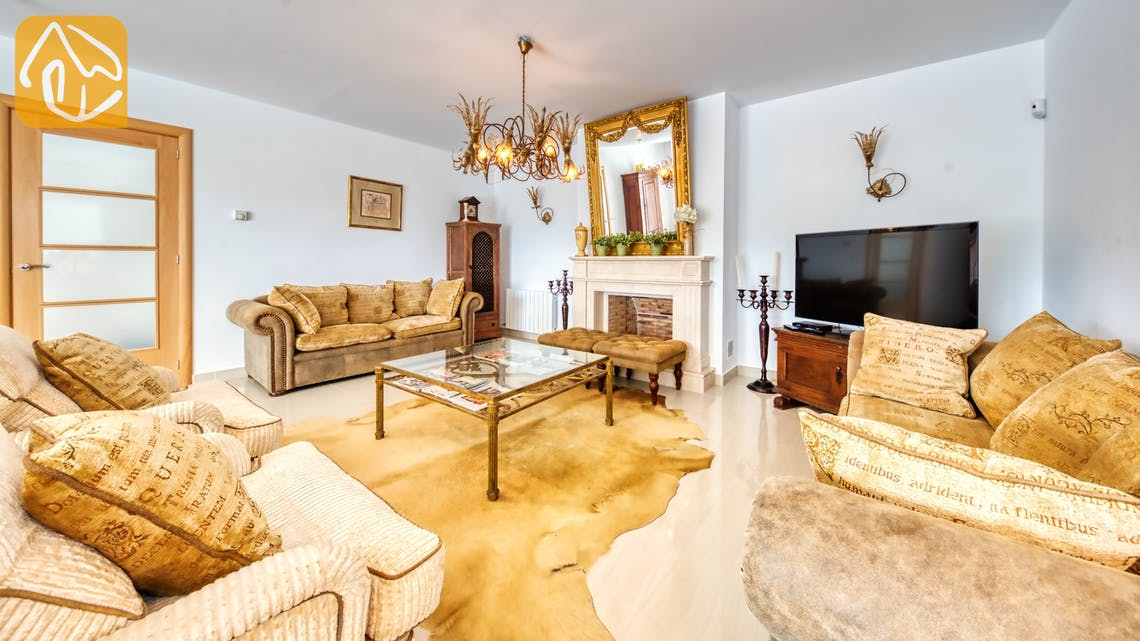 Holiday villas Costa Brava Spain - Villa Sophia Lois - Living area