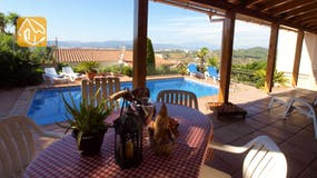 Holiday villas Costa Brava Spain - Villa Barbara - Terrace