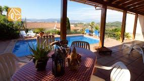 Vakantiehuizen Costa Brava Spanje - Villa Barbara - Terras