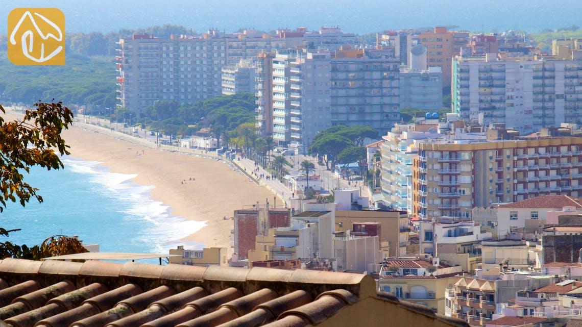 Ferienhäuser Costa Brava Spanien - Villa Barbara - Terrasse