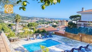 Casas de vacaciones Costa Brava España - Villa Abigail - Piscina