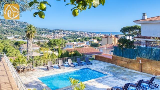 Vakantiehuizen Costa Brava Spanje - Villa Abigail - Zwembad