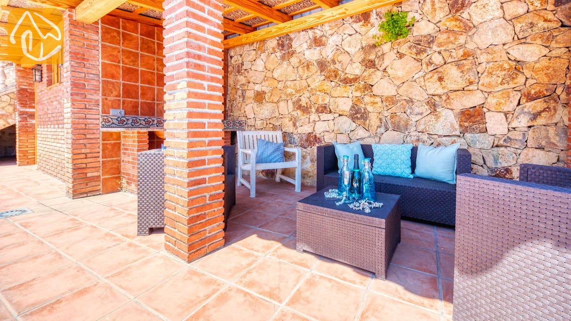 Holiday villas Costa Brava Spain - Villa Dolce Vita - Lounge area