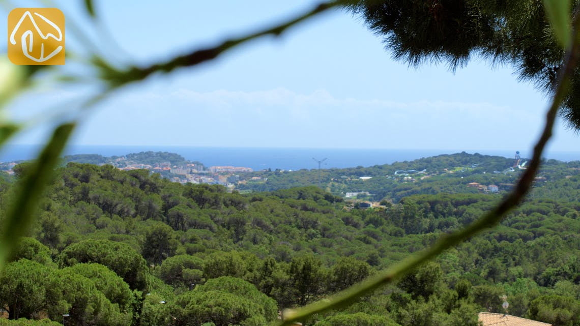 Holiday villas Costa Brava Spain - Villa Macey - One of the views