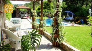 Ferienhäuser Costa Brava Spanien - Villa Magnolia - Villa Außenbereich