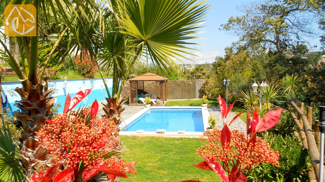 Holiday villas Costa Brava Spain - Villa Magnolia - Swimming pool