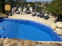 Holiday villas Costa Brava Spain - Villa Lancelot - Swimming pool