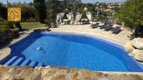 Holiday villa Costa Brava Spain - Villa Lancelot - Swimming pool