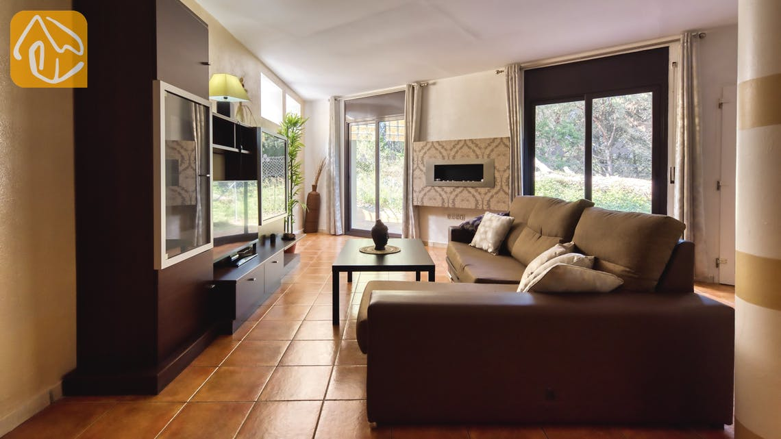 Holiday villas Costa Brava Spain - Villa Anastasia - Living area