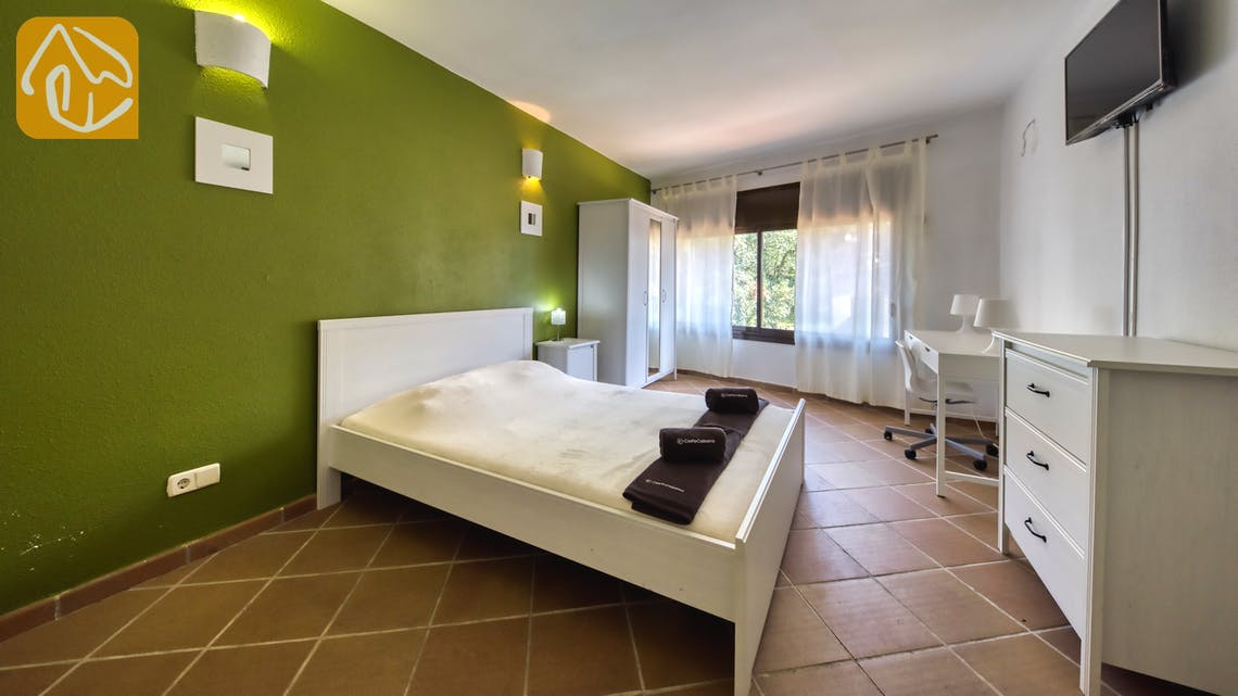 Holiday villas Costa Brava Spain - Villa Anastasia - Bedroom