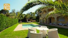 Vakantiehuizen Costa Brava Spanje - Villa Jenga - Tuin