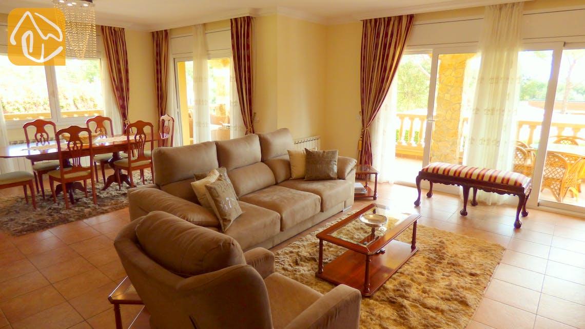 Ferienhäuser Costa Brava Spanien - Villa Jenga - Garten