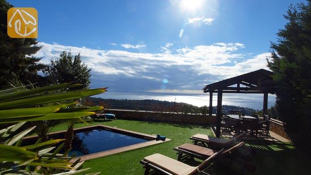 Ferienhäuser Costa Brava Spanien - Villa Adora - Schwimmbad