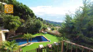 Holiday villas Costa Brava Spain - Villa Adora - One of the views