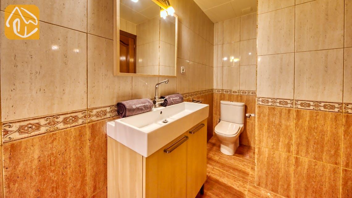 Ferienhäuser Costa Brava Spanien - Casa Fiesta - Badezimmer