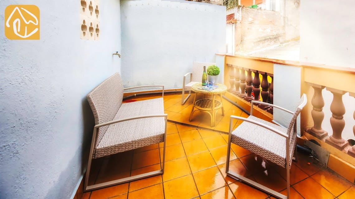 Ferienhäuser Costa Brava Spanien - Casa Fiesta - Terrasse