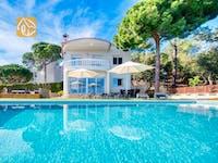 Ferienhäuser Costa Brava Spanien - Villa Chanel - Villa Außenbereich