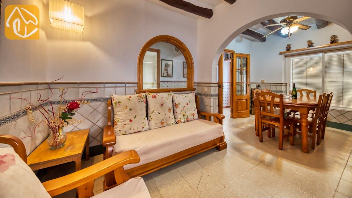 Ferienhäuser Costa Brava Spanien - Casa Domenica - Terrasse