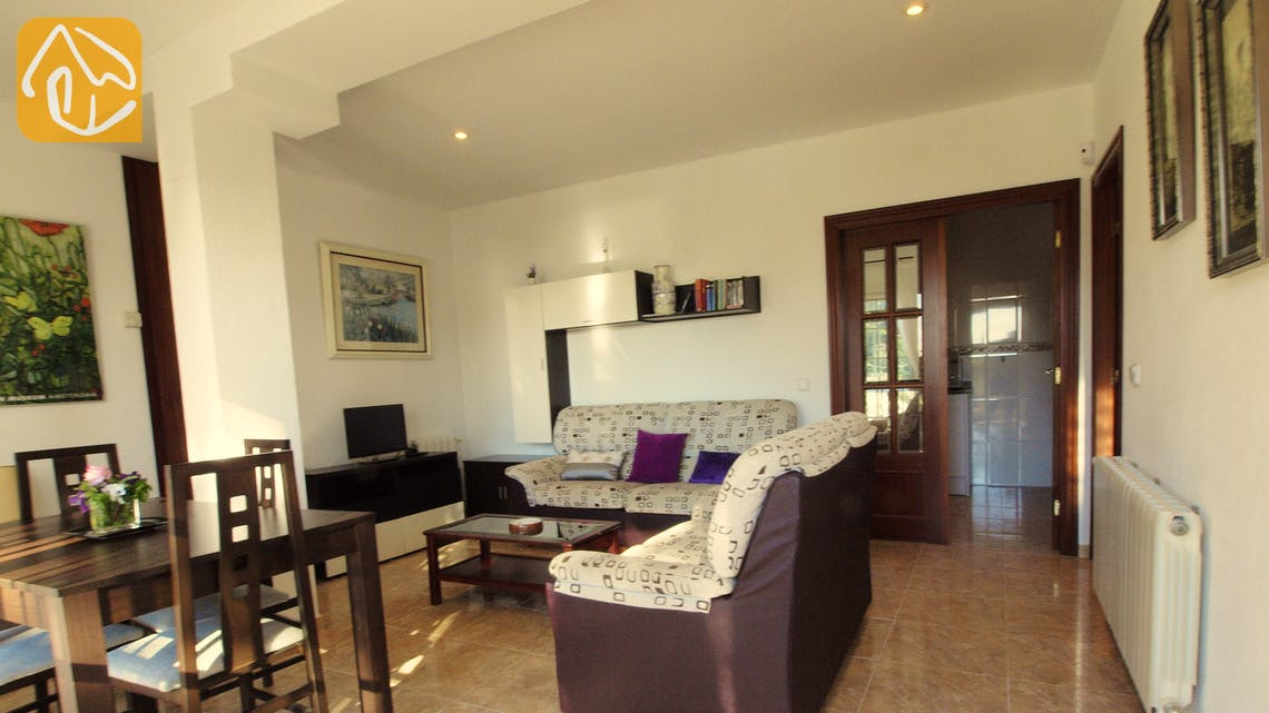 Holiday villas Costa Brava Spain - Villa Noa - Living area