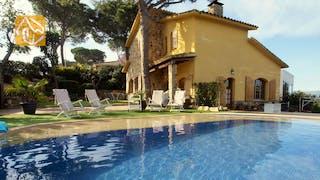 Ferienhäuser Costa Brava Spanien - Villa Daniele - Villa Außenbereich