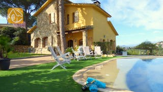 Holiday villas Costa Brava Spain - Villa Daniele - Garden