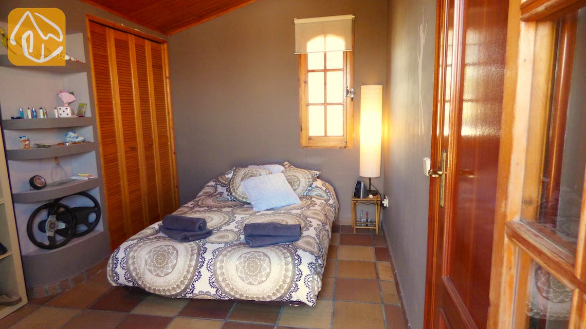 Holiday villas Costa Brava Spain - Villa Daniele - Bedroom