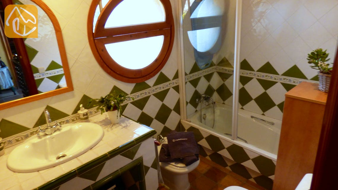 Holiday villas Costa Brava Spain - Villa Daniele - Bathroom
