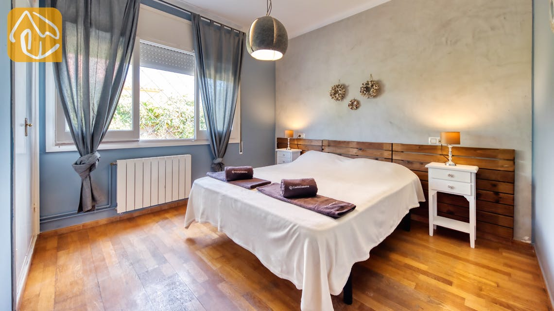 Vakantiehuizen Costa Brava Spanje - Villa Yara - Hoofd slaapkamer