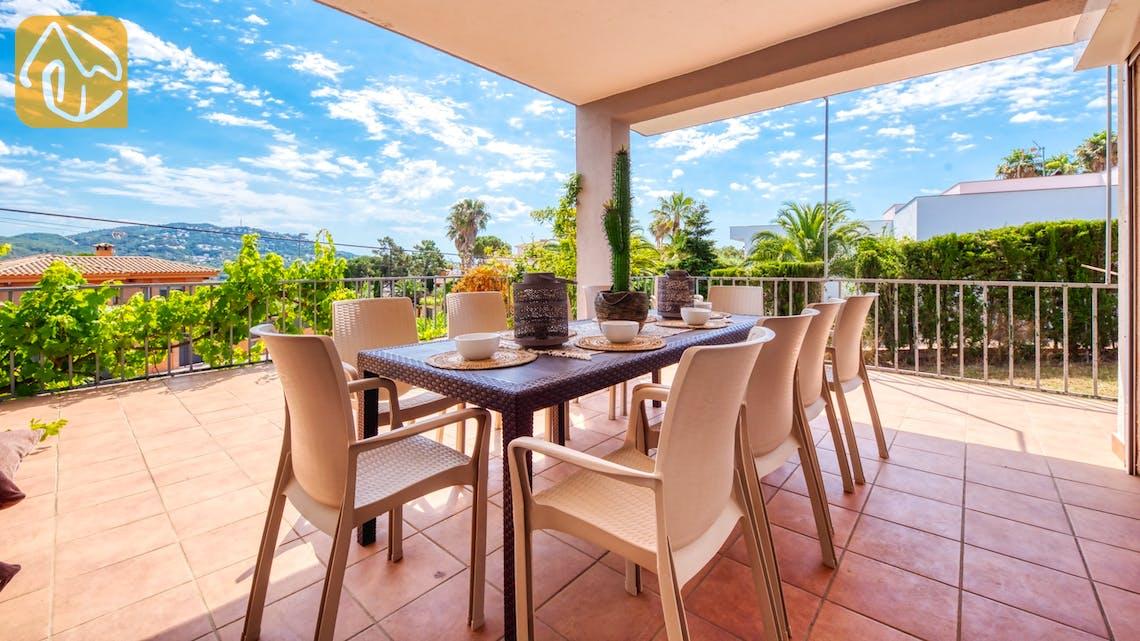 Vakantiehuizen Costa Brava Spanje - Villa Yara - Terras