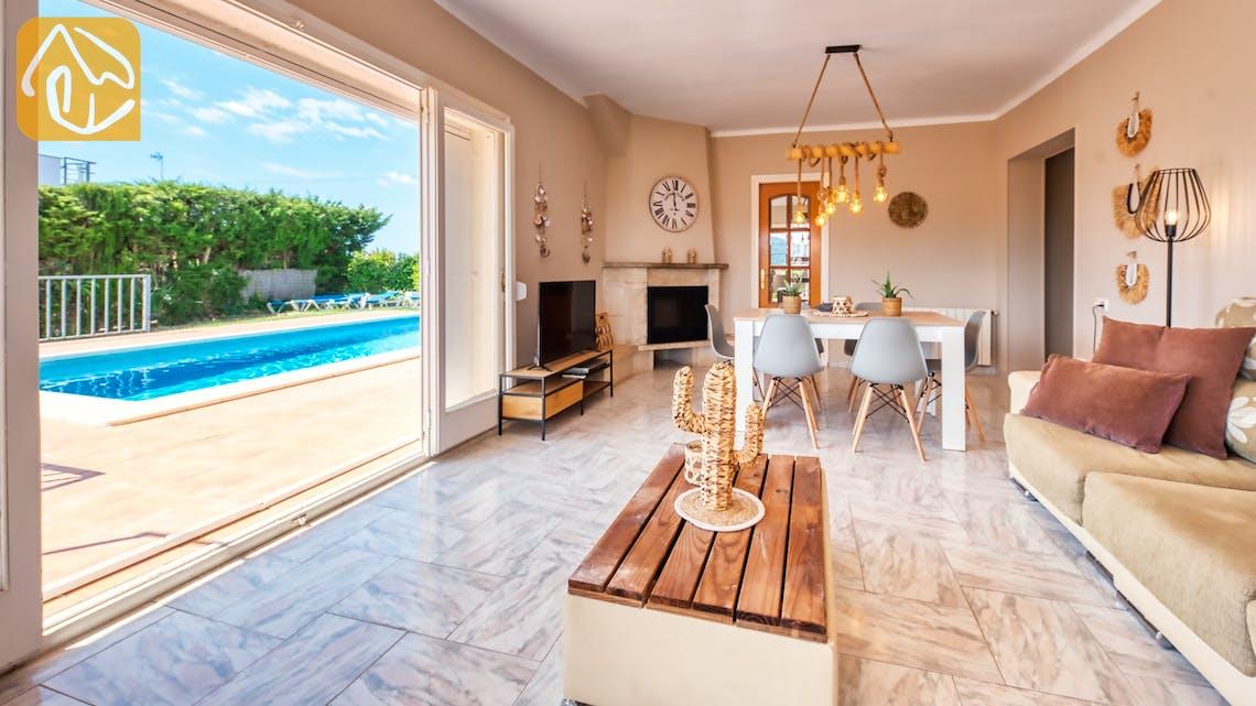 Vakantiehuizen Costa Brava Spanje - Villa Yara - Woonkamer