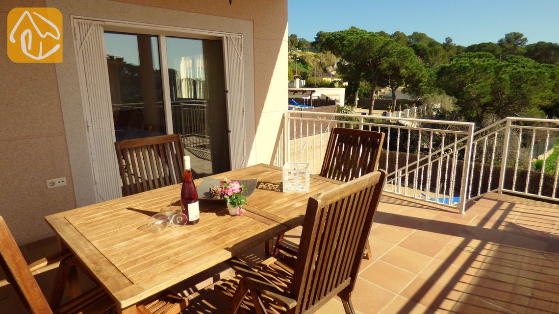 Holiday villas Costa Brava Spain - Villa Florentina - Swimming pool