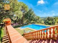 Ferienhäuser Costa Brava Spanien - Villa Paradise - Schwimmbad