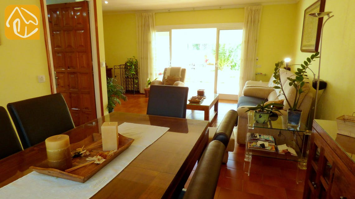 Holiday villas Costa Brava Spain - Villa Rafaella - Living room
