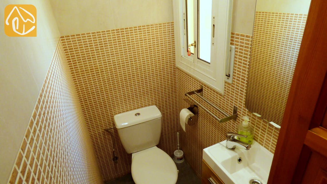Holiday villas Costa Brava Countryside Spain - Villa Rafaella - Toilet