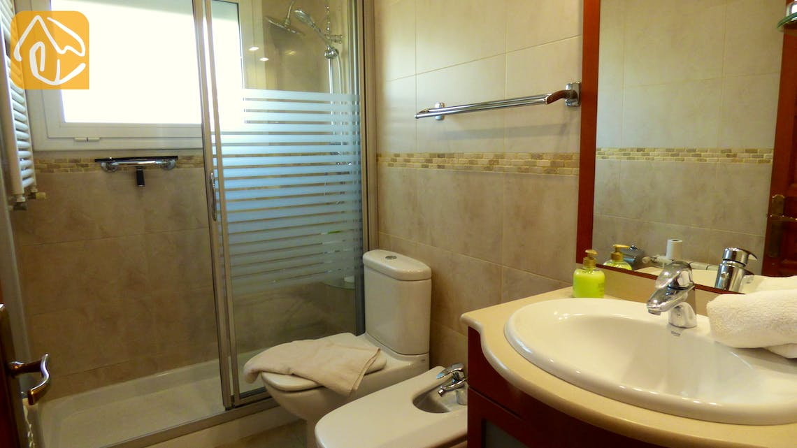 Holiday villas Costa Brava Countryside Spain - Villa Rafaella - Bathroom