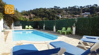 Holiday villas Costa Brava Spain - Villa Beaudine - Swimming pool