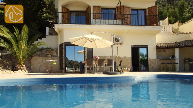 Holiday villas Costa Brava Spain - Villa Monroe - Swimming pool