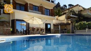 Casas de vacaciones Costa Brava España - Villa Monroe - Piscina