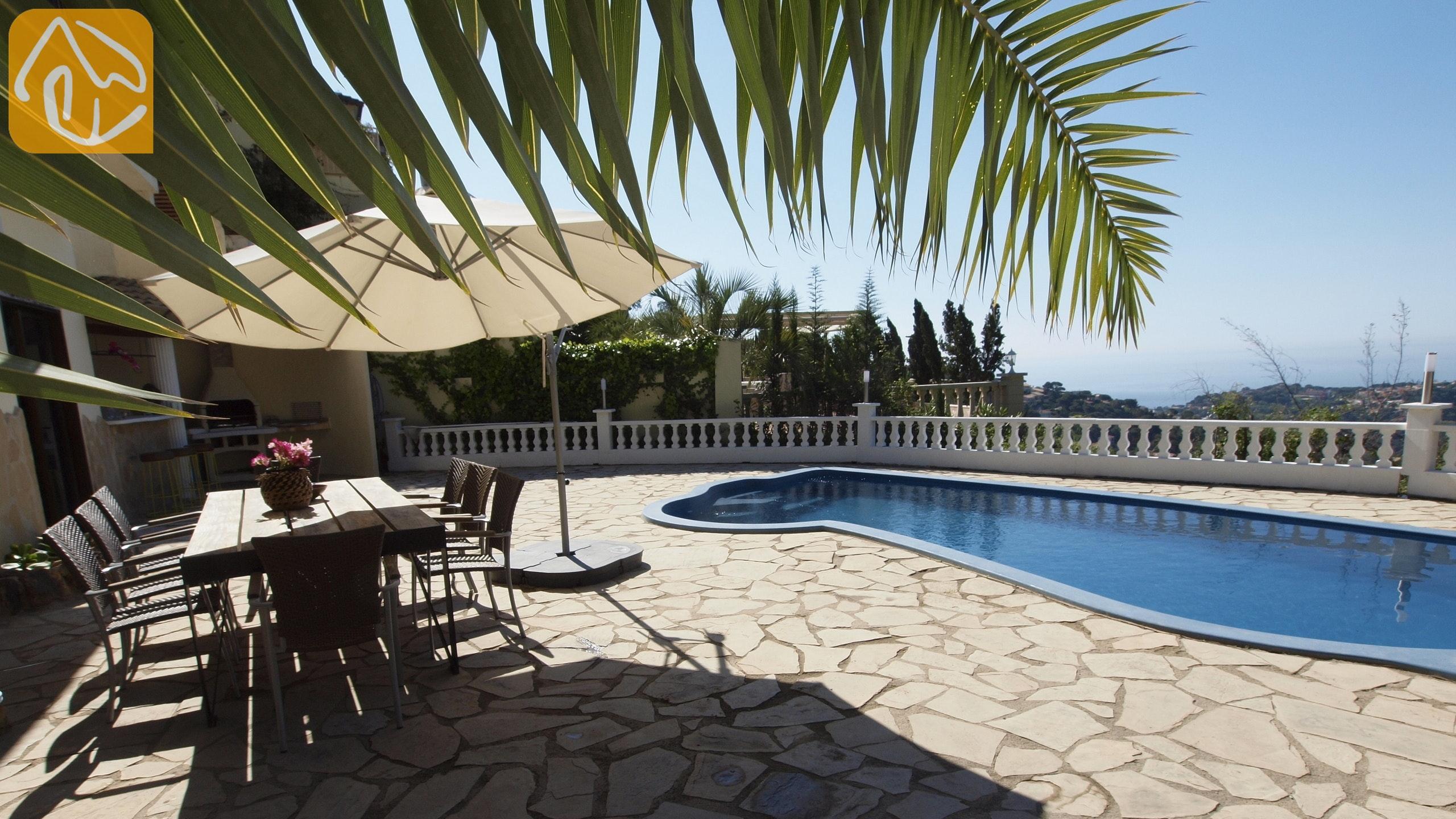 Charming Holiday Villas Costa Brava Spain   Villa Monroe   Swimming Pool