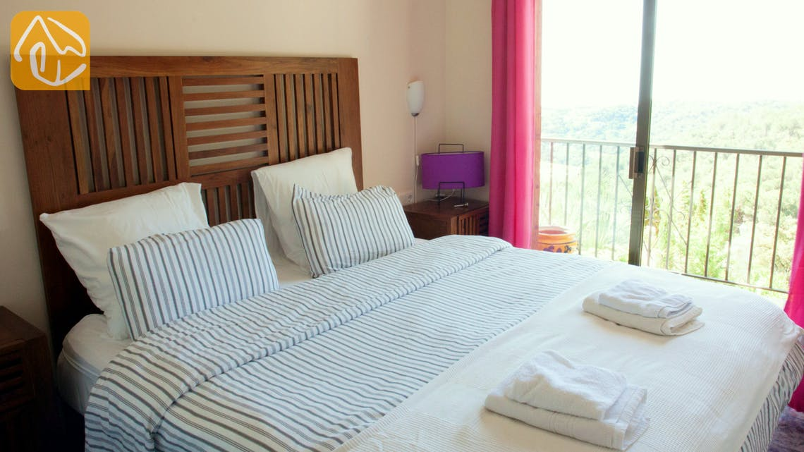 Holiday villas Costa Brava Spain - Villa Monroe - Bedroom